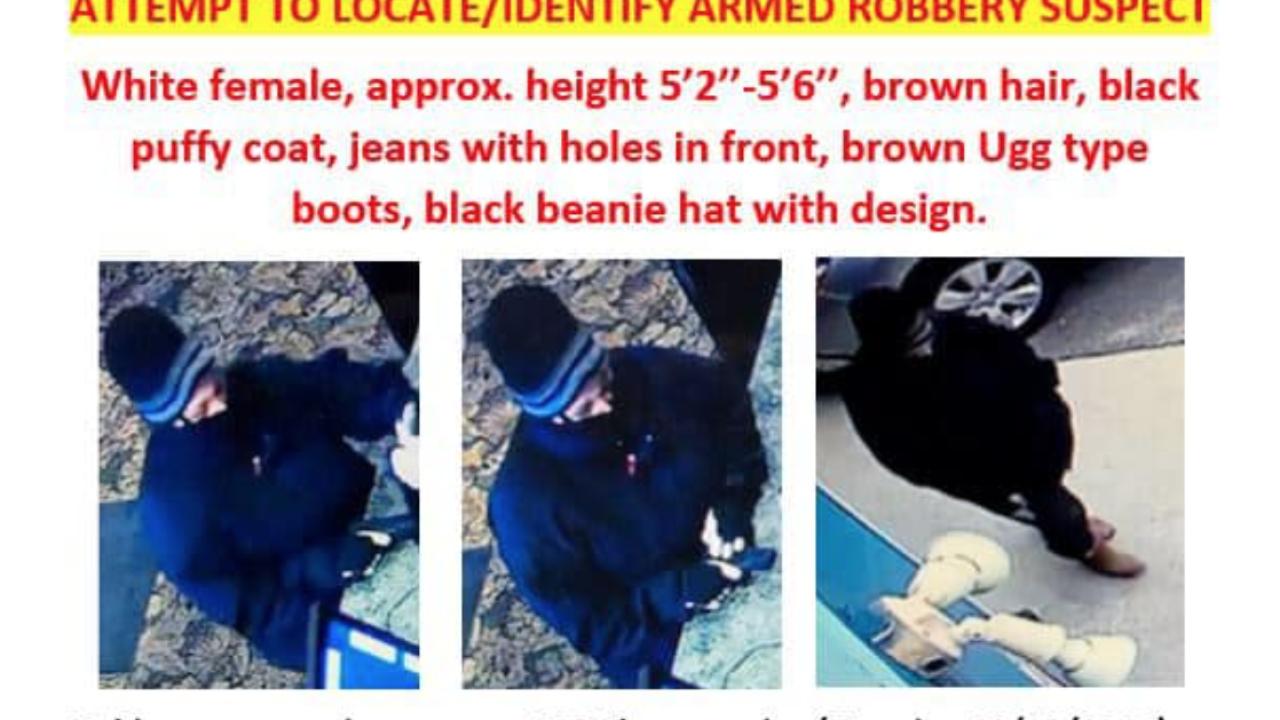 Bigfork Armed Robbery Suspect Flier
