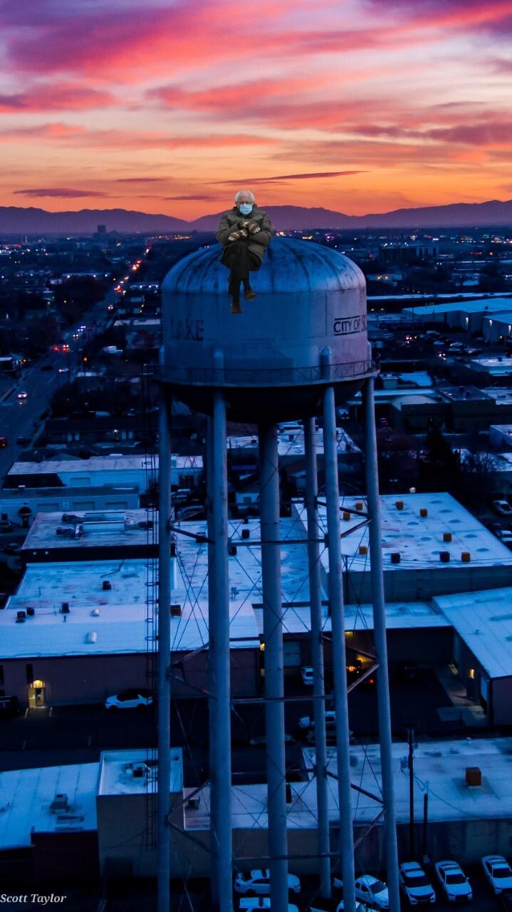 Bernie Water Tower