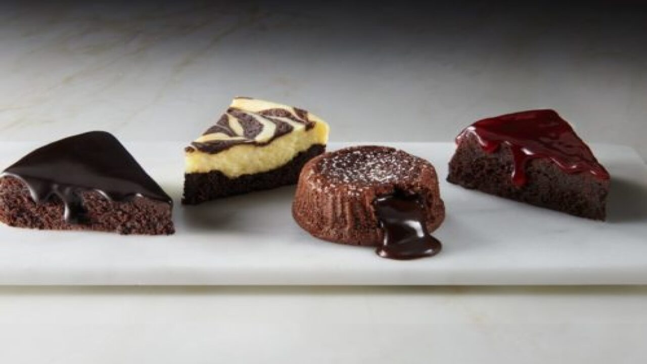 Godiva Now Makes Baking Mixes That Include Molten Lava Cake, Brownie Cheesecake Swirl And More