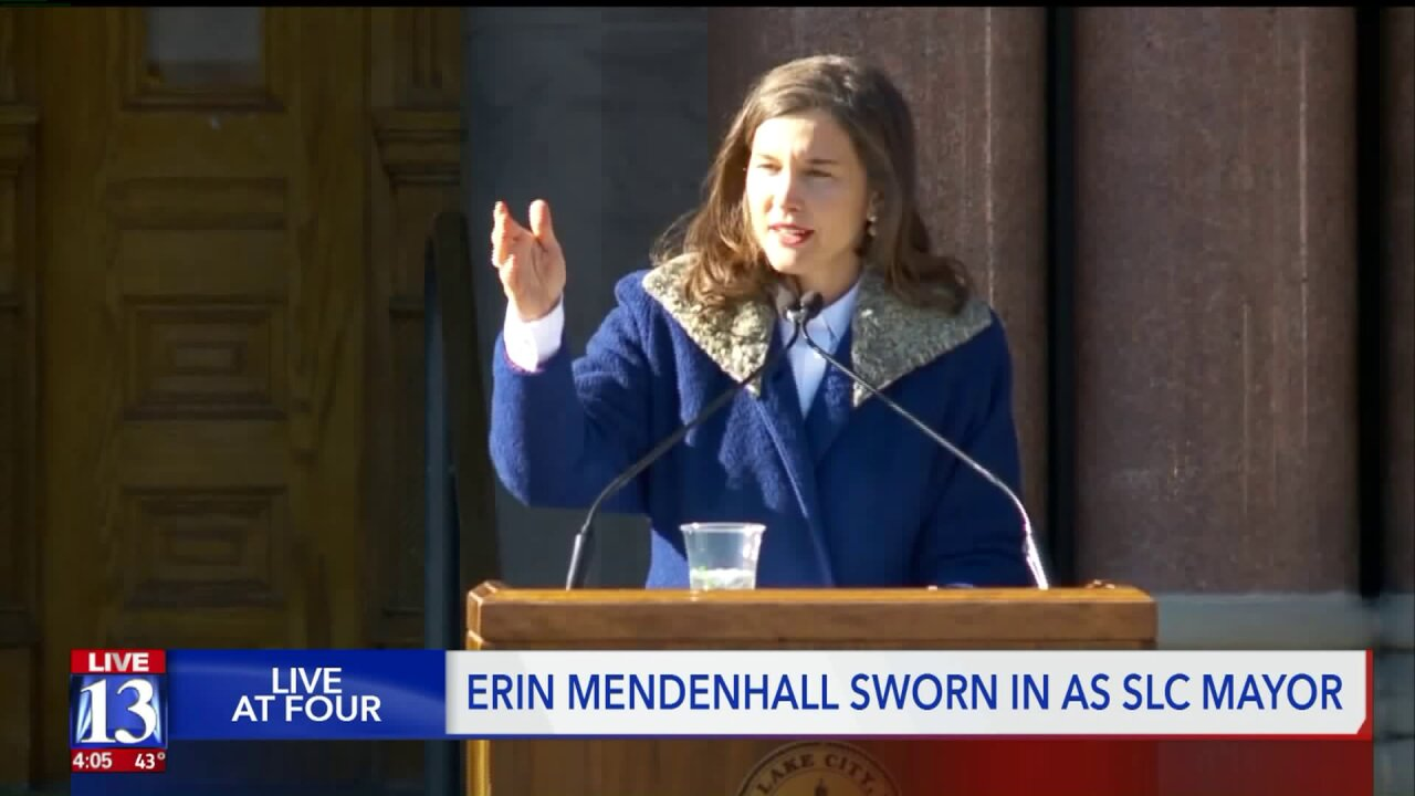 Erin Mendenhall sworn in as Salt Lake City mayor, issues new air qualitydirective