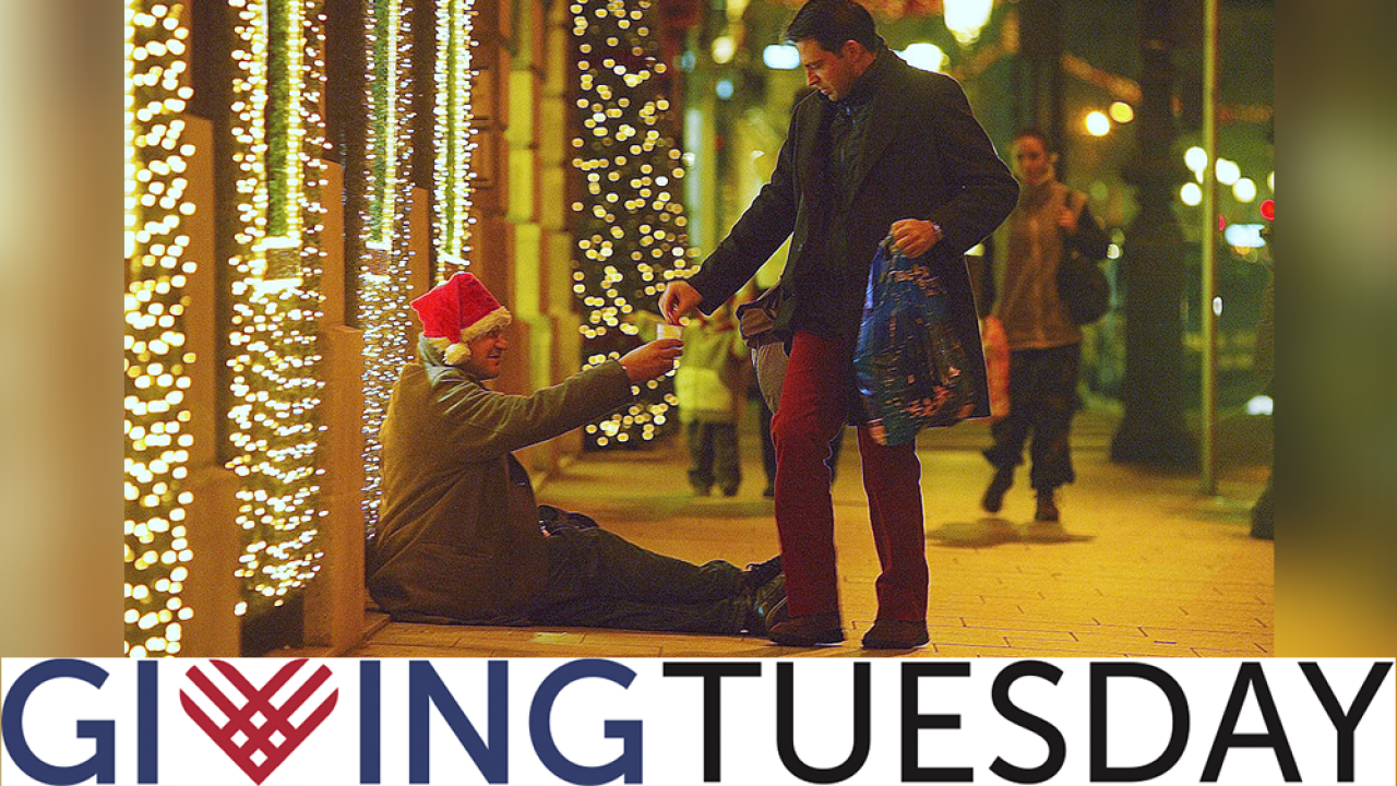 Today is Giving Tuesday. Here's how it started and how you can participate.