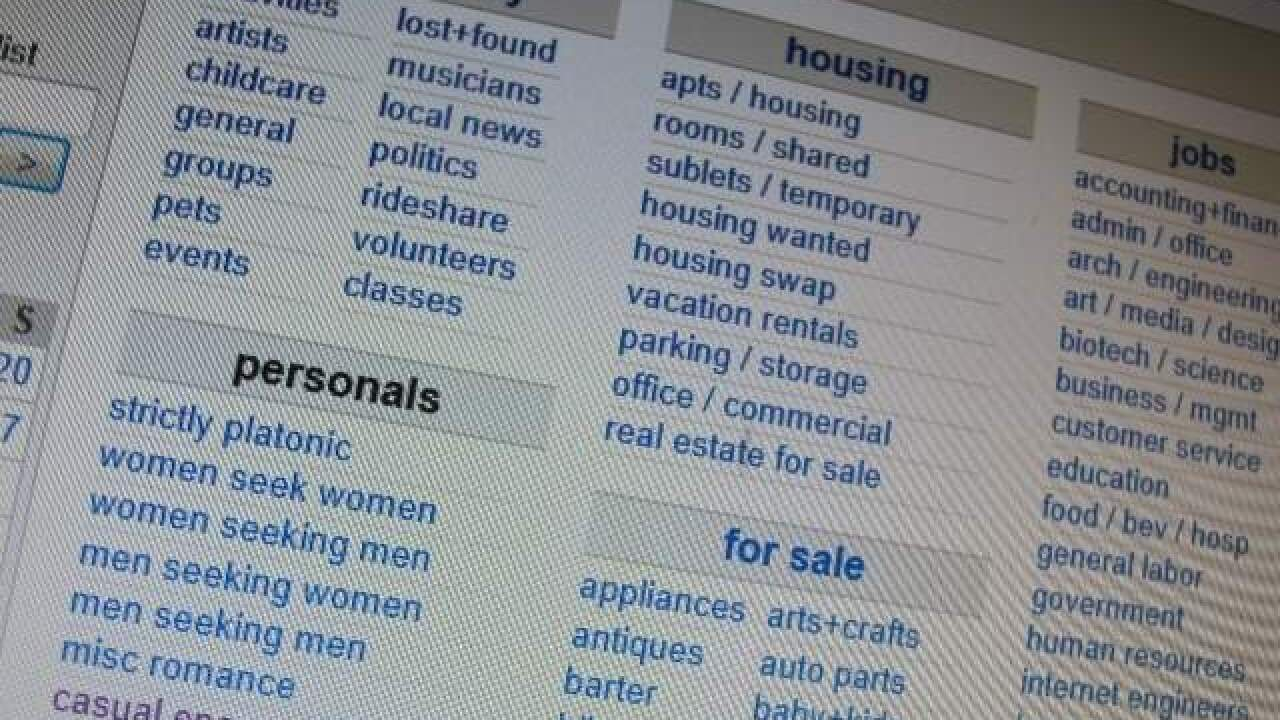 Mom lured by Craigslist car scam