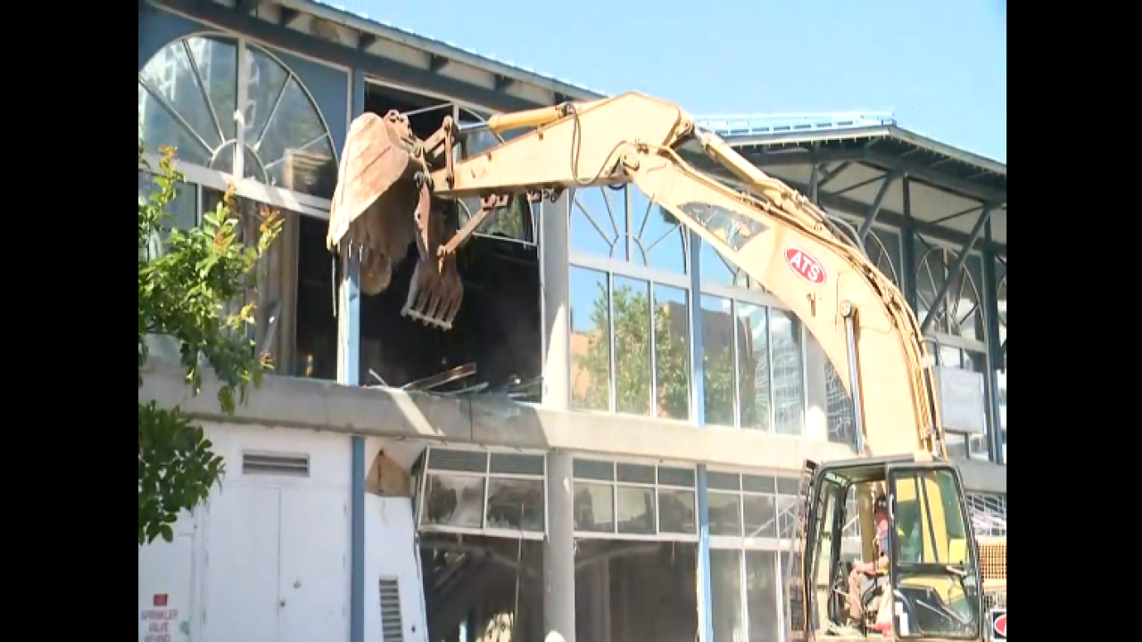 Waterside annex demolition begins to make way for new WatersideDistrict