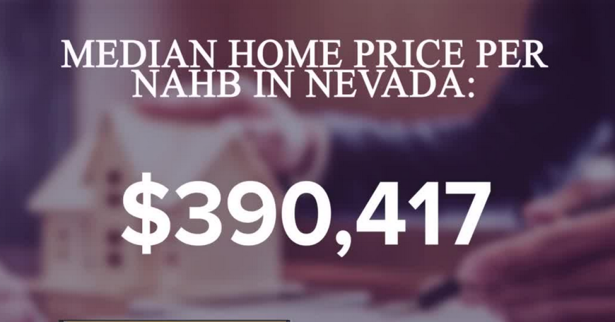Middle class buyers priced out of Nevada housing market