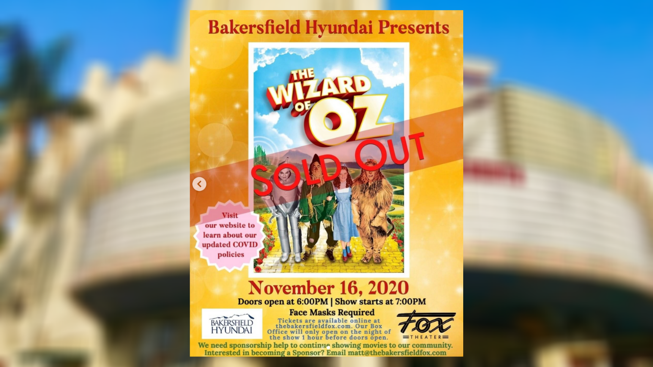 Fox Theater Presents The Wizard of Oz