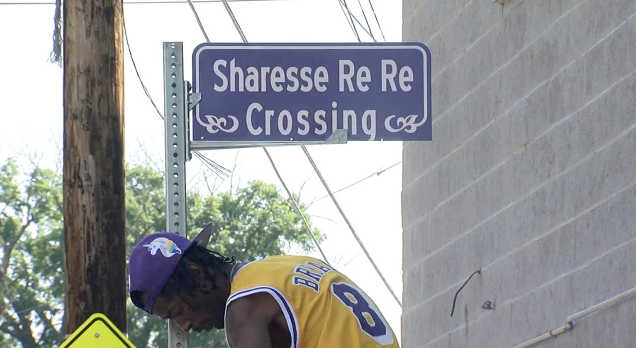 Cincinnati dedicates new 'ReRe's Crossing' at site of Avondale crash that killed 7-year-old
