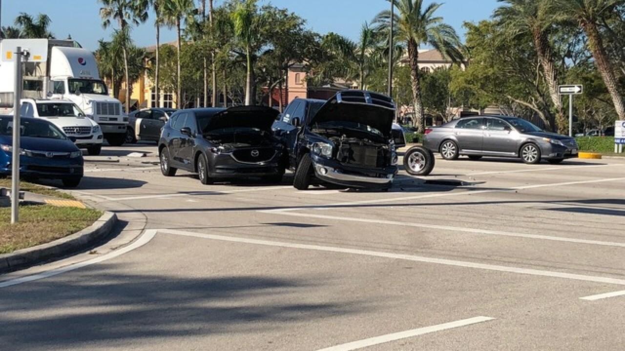 Several vehicles involved in Bonita crash