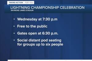 Lightning release Stanley Cup Champions boat parade, fan rally schedule