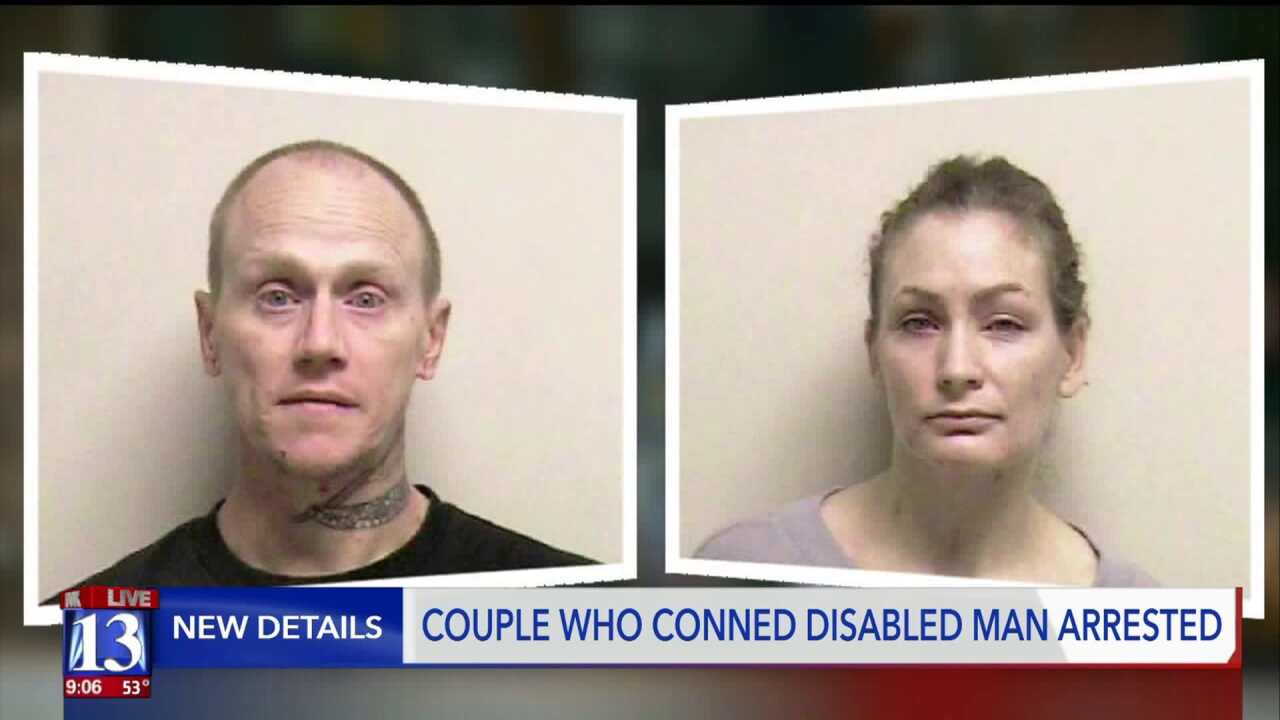 Couple allegedly scams disabled man, friend warns of larger issue of addiction