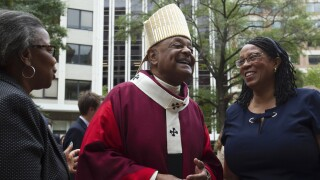 Wilton Gregory: Pope Francis appoints DC bishop as first African-American cardinal