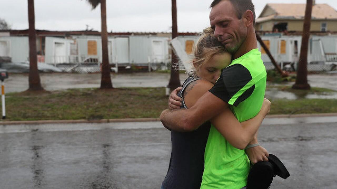 Hurricane Harvey hits Texas hard