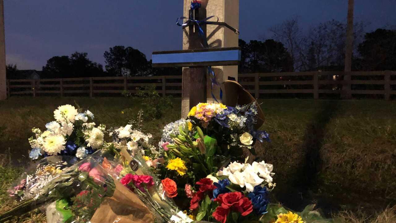 Memorial for corporal brian lavigne