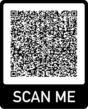 Scan this QR code with your phone's camera to view Vickie's videos on TikTok