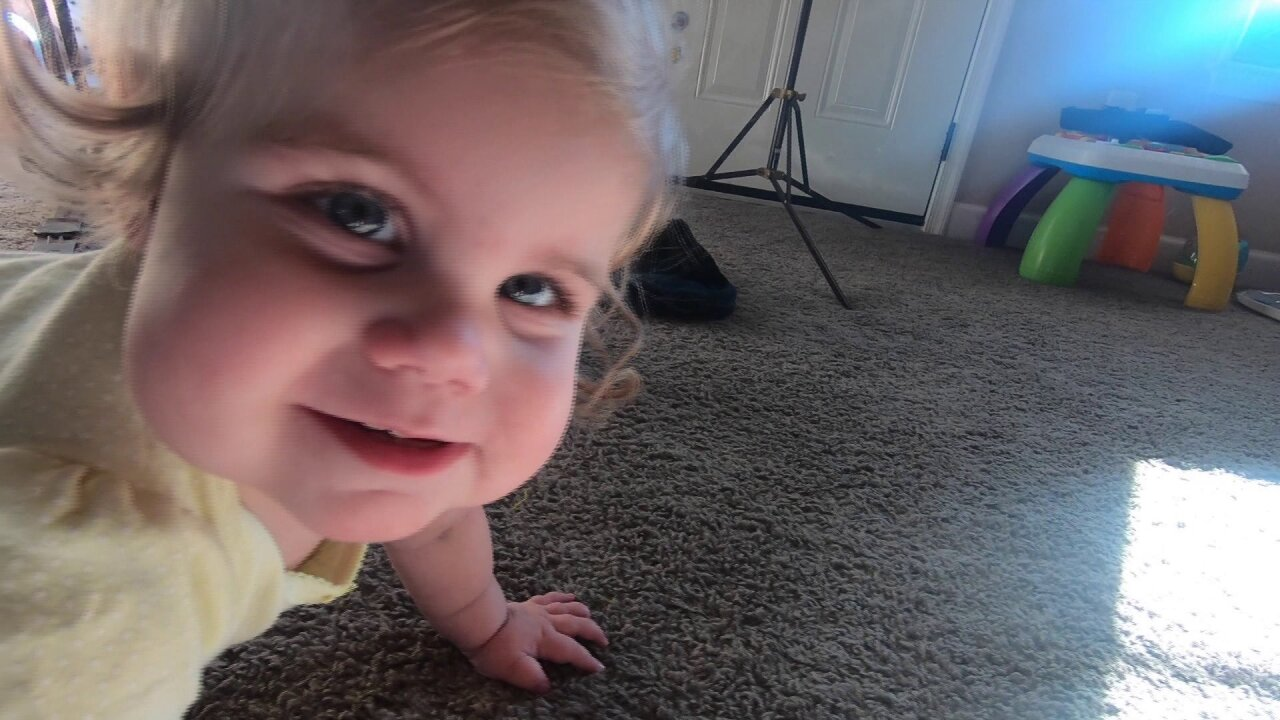 This miracle baby, who almost wasn't, has a smile that brings joy toothers