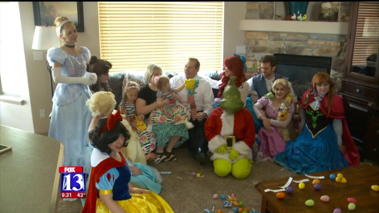 'Giving Grinch' delivers Disneyland getaway for Utah family facing terminaldiagnosis