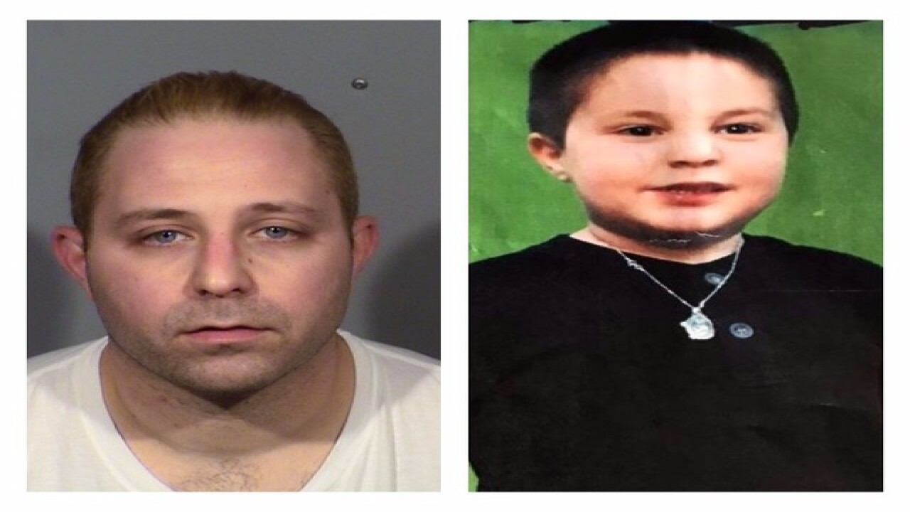 Man accused of missing son's murder arrested
