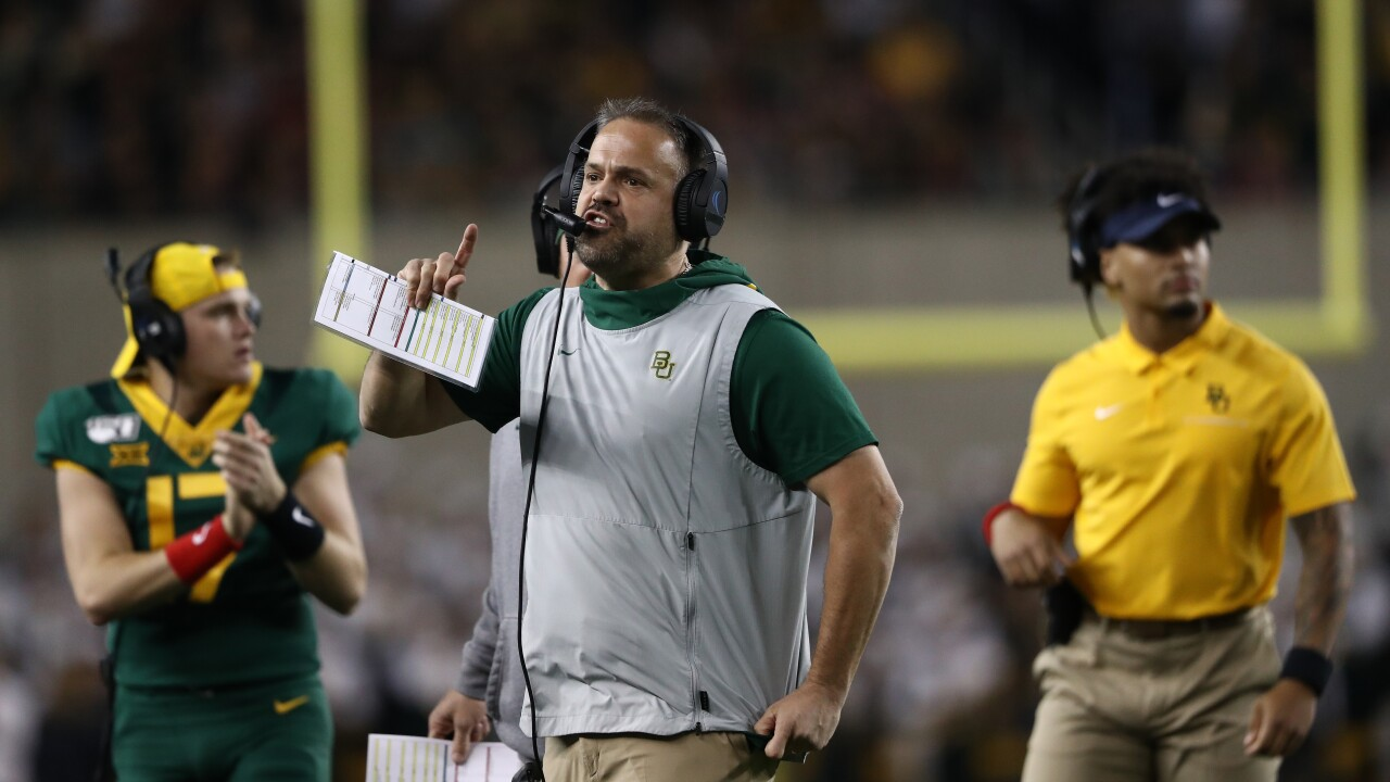 Carolina Panthers hire Baylor University's Matt Rhule as new head coach