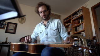 Furloughed Philharmonic musician finds new purpose by composing country-folk album