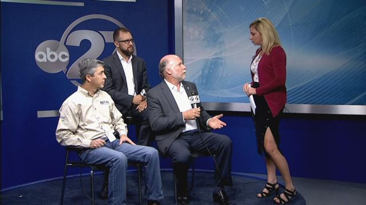 Discussion panel looks back on surviving through Hurricane Hermine