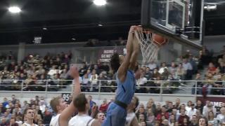 Kobe Bufkin during a dunk