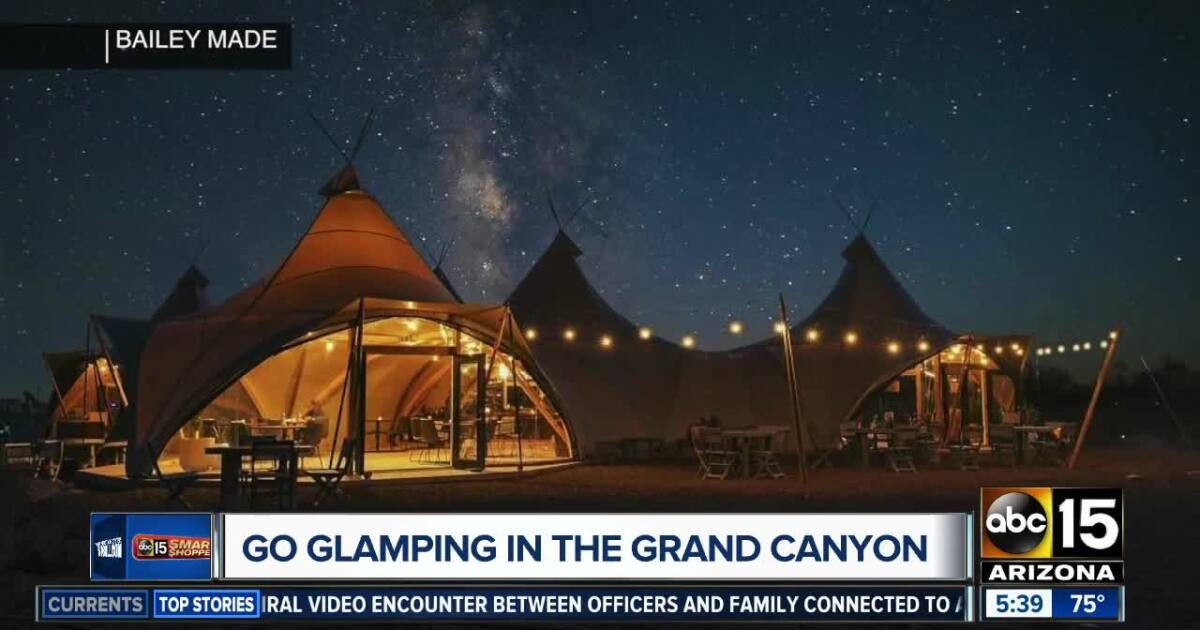 """Under Canvas offers 25% off to go """"glamping""""!"""