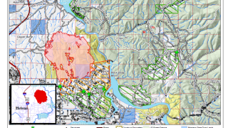 North Hills Fire: some evacuation orders lifted Wednesday