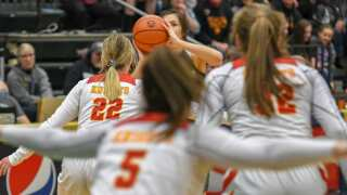Photos: State AA girls basketball sets semifinal stage on Thursday