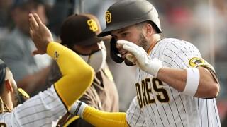 Pirates Padres Baseball victor caratini