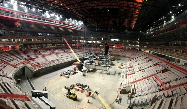 Photo gallery: Inside Little Caesars Arena as construction continues