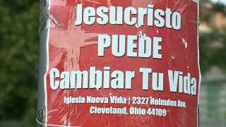 CLE residents complain after church posts hundreds of illegal signs