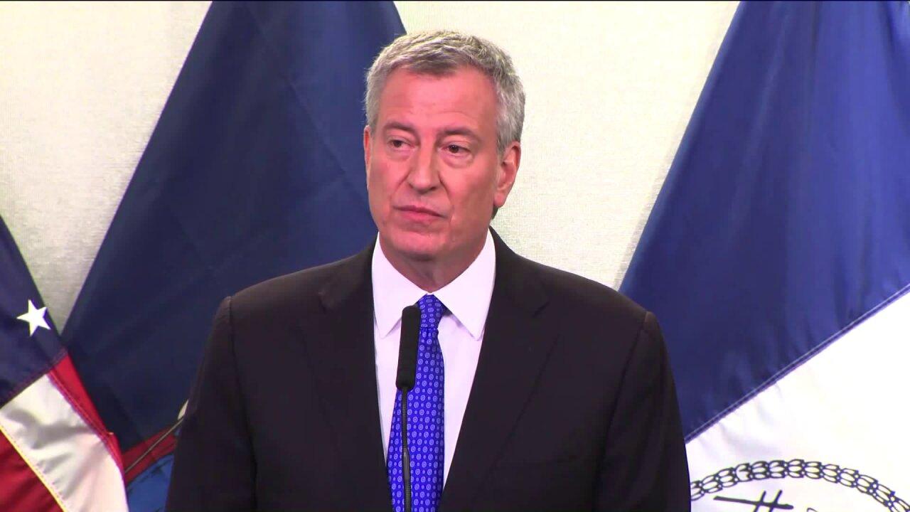Mayor de Blasio Declares State of Emergency to Fight Coronavirus in NYC