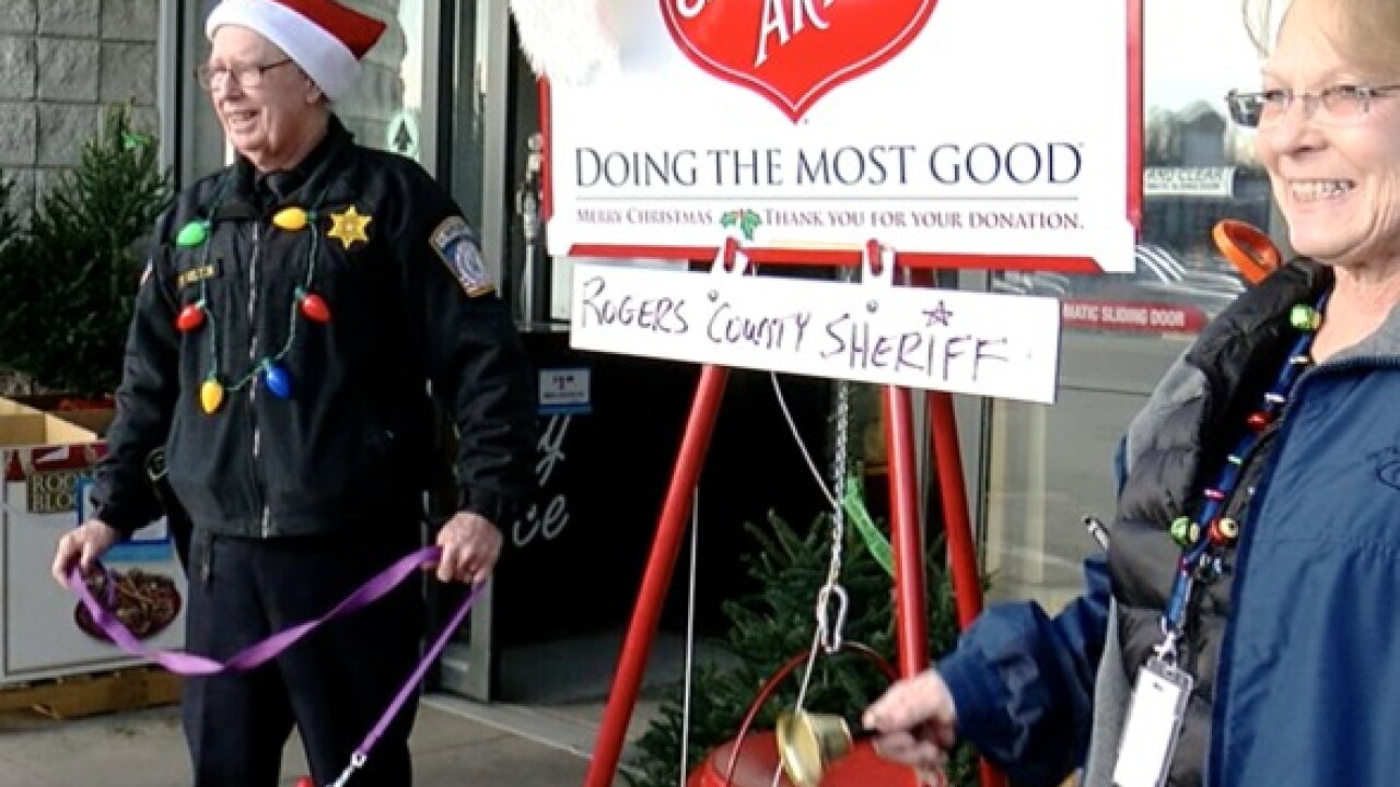 Claremore first responders compete to raise money for Salvation Army
