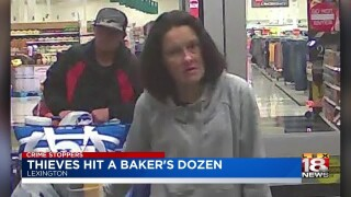 Crime Stoppers: Thieves Use Stolen Credit Card At 13 Businesses