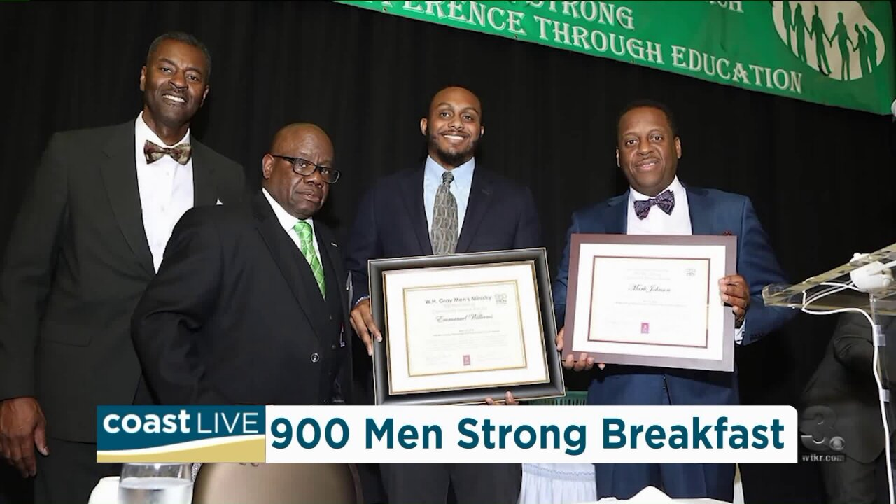 A community breakfast to help high school boys achieve educational goals on Coast Live