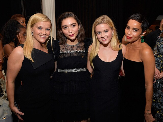 Actresses wear black at 2018 Golden Globes to protest sexual misconduct