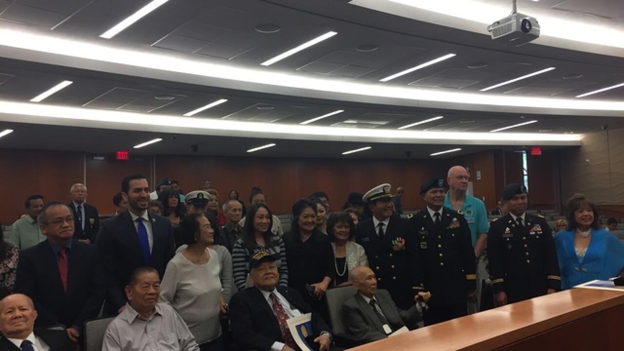 Honoring Nevada's Filipino veterans