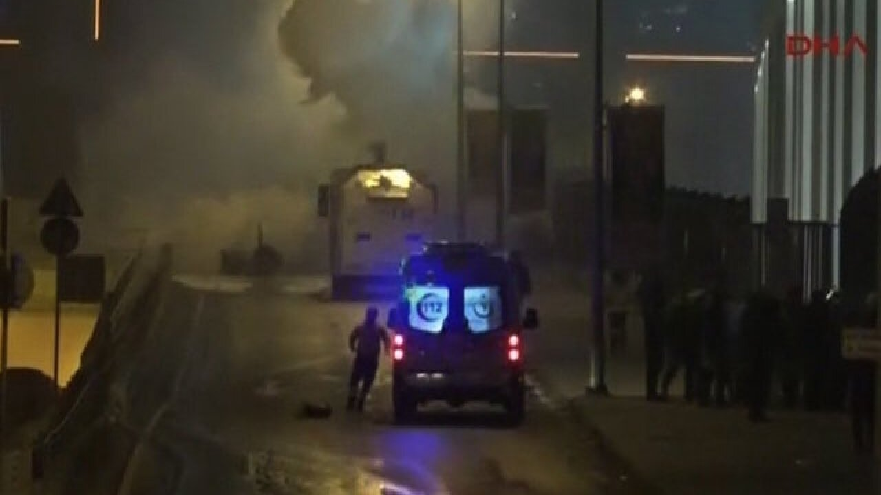 Explosions injures dozen at Turkish stadium