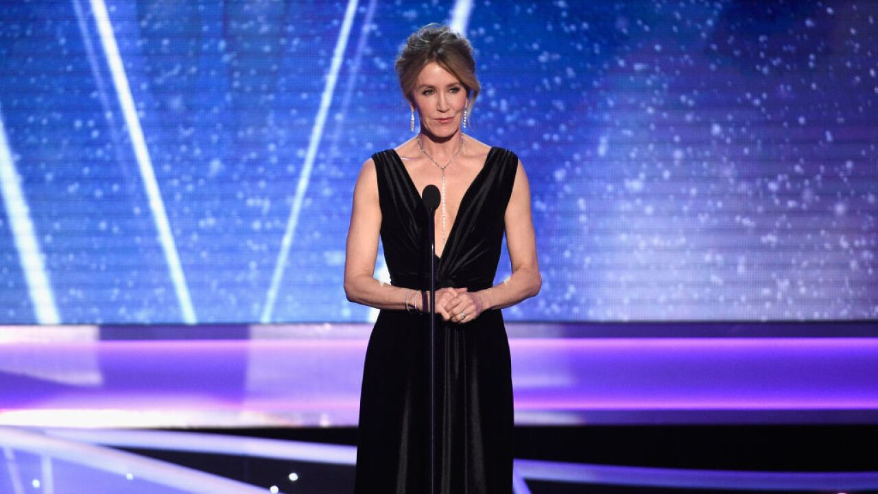 Felicity Huffman to plead guilty in college admissions scandal, report says