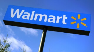 Walmart logo sign