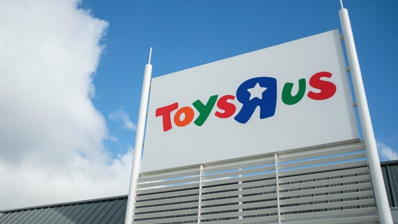 Toys 'R' Us plans to close 182 U.S. stores