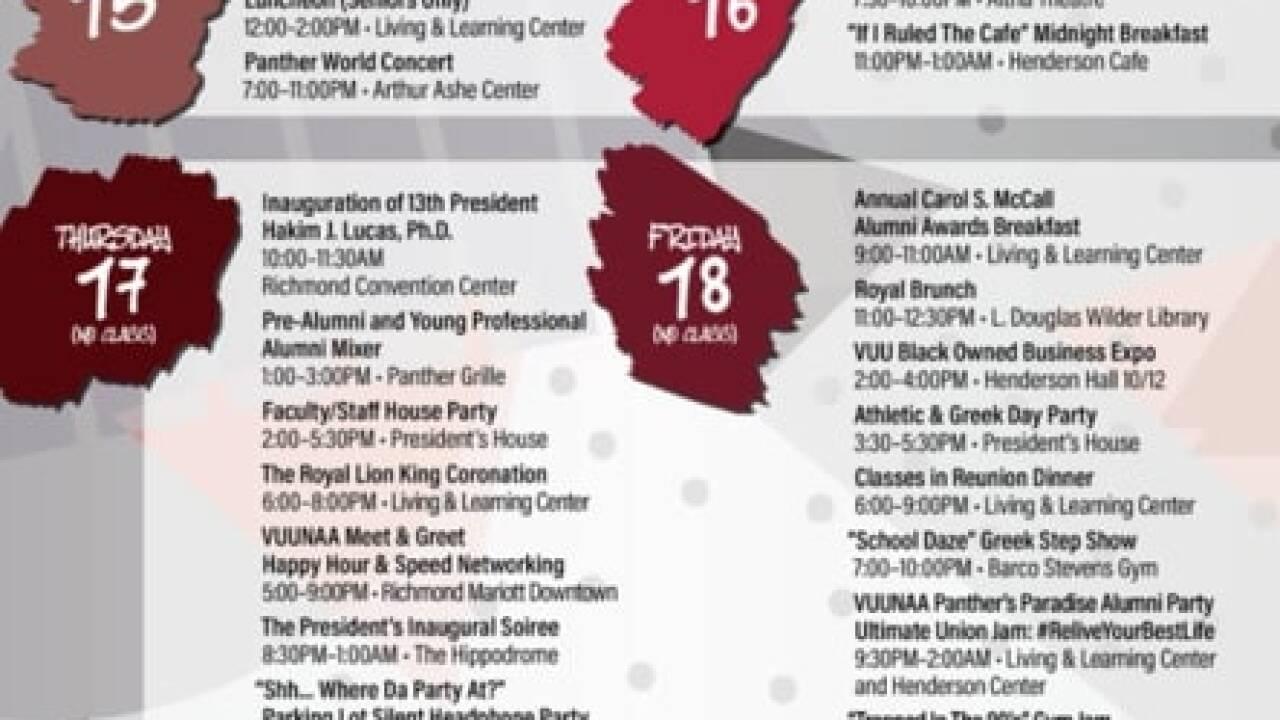 Virginia Union University Homecoming2019