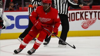 Red Wings prospect Givani Smith believes he belongs in NHL this season