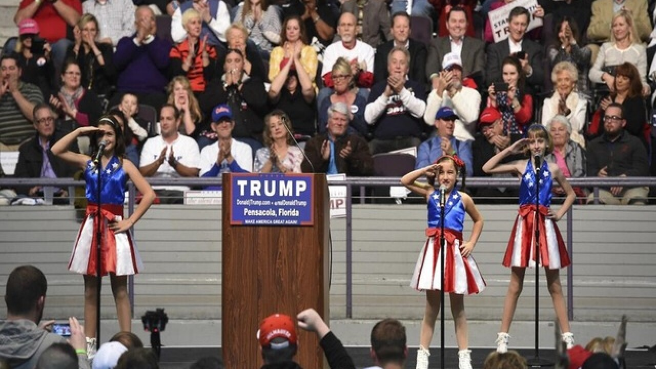 Father behind pro-Trump girls group to sue campaign