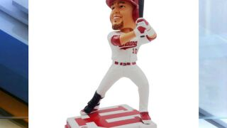 Former IU baseball standout Kyle Schwarber has his own bobblehead