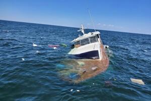 Saginaw Bay boat rescue