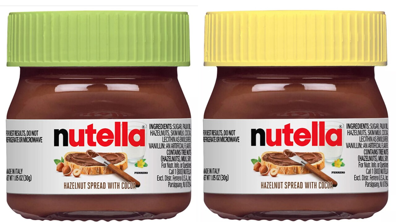 You can now buy mini Nutella jars for just $1