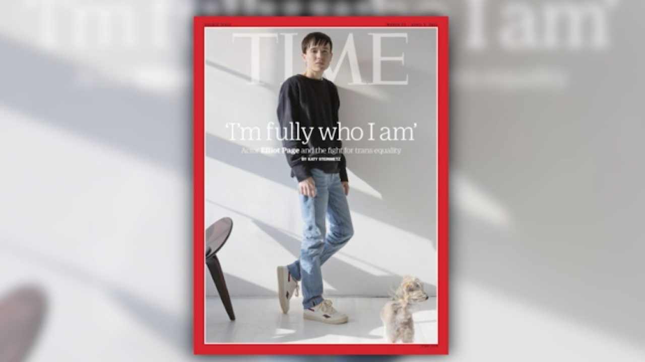 Elliot Page Time Magazine cover