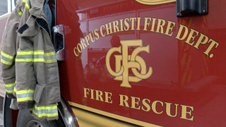 CCFD combat fire with low water pressure