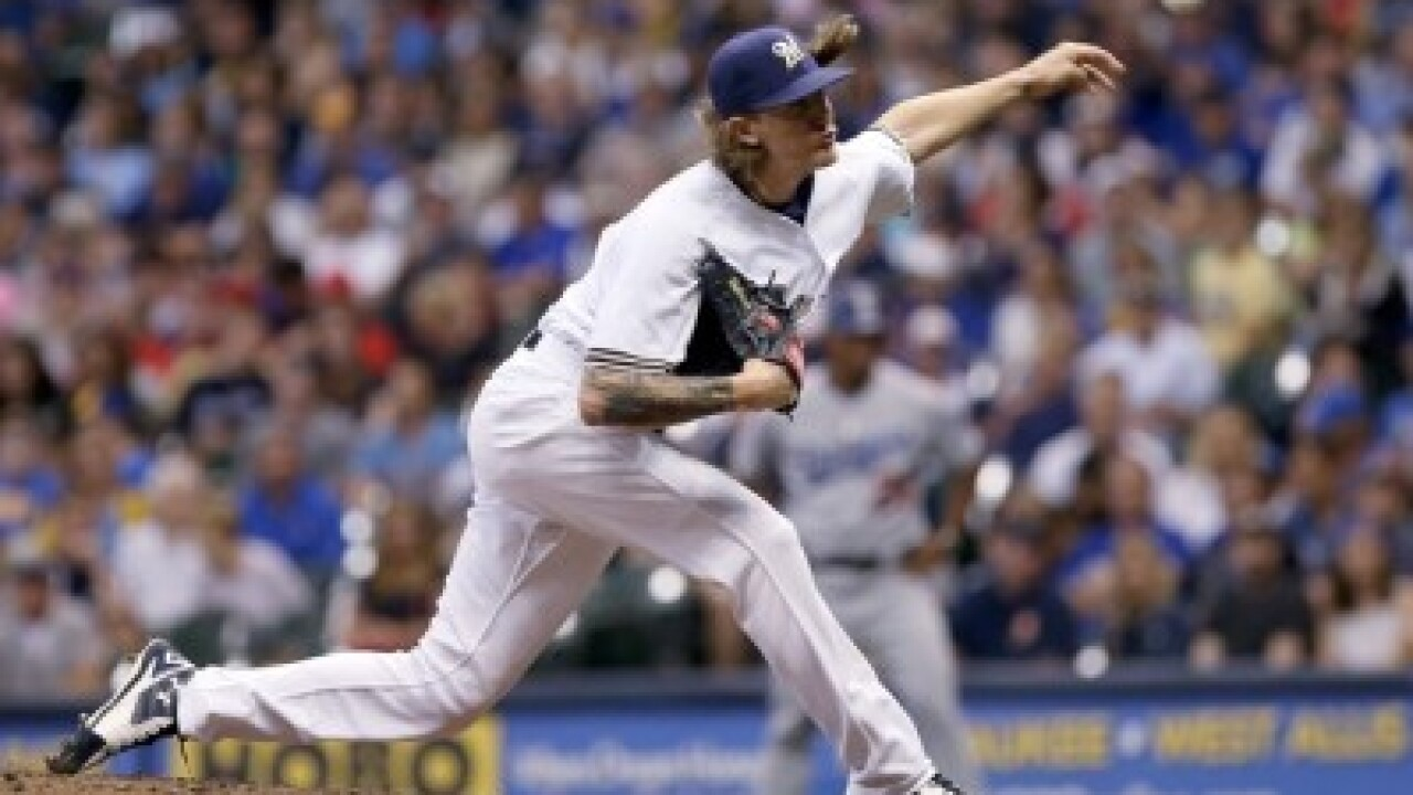 Milwaukee reliever Josh Hader earns NL Reliever of Month award