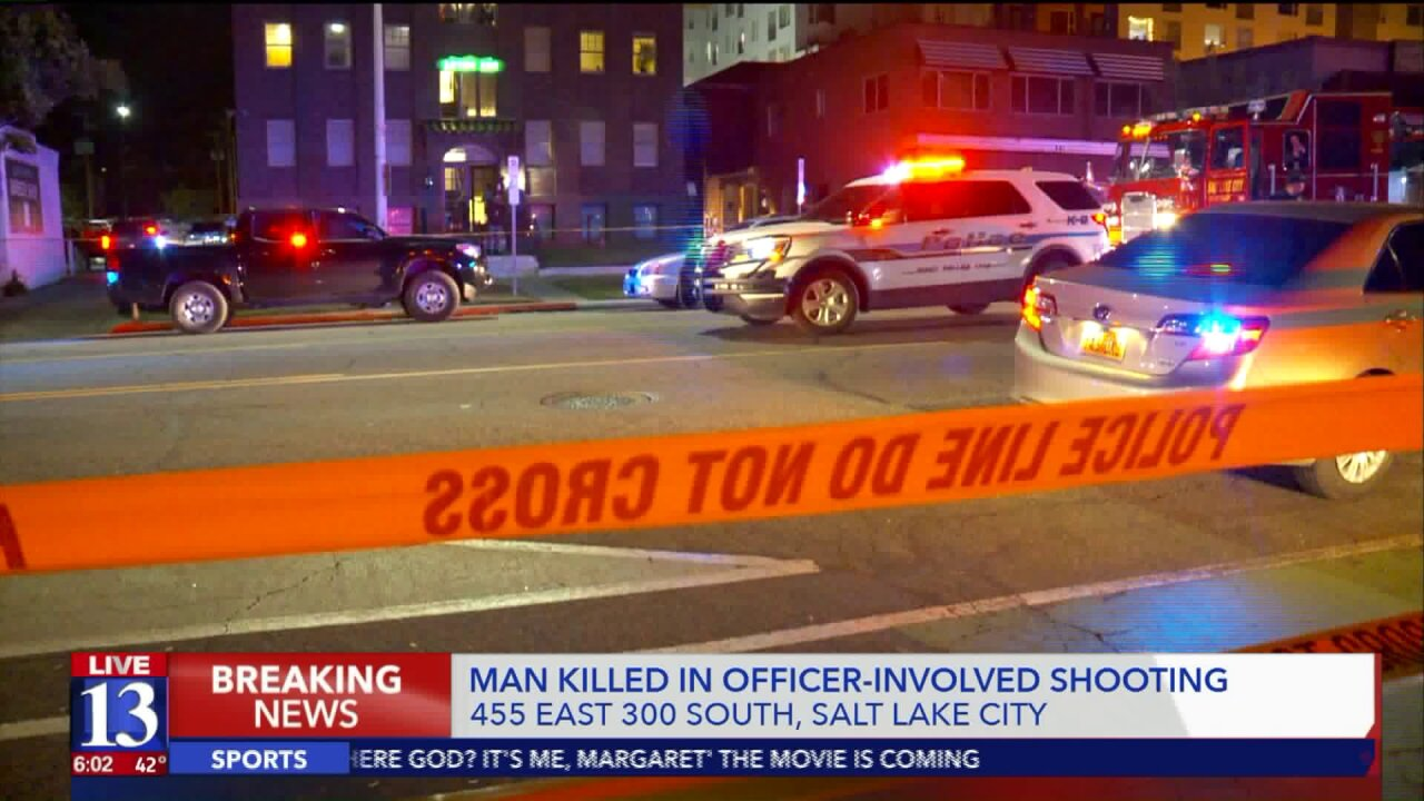 Man shot, killed by officers during Metro Gang Unit operation in Salt Lake City